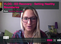 VLOG – ED Recovery – Setting Healthy Bundaries