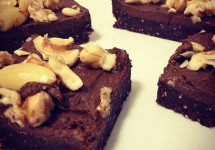 Raw, Vegan, Sugar Free Chocolate Brownie