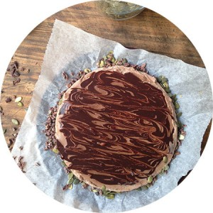 raw chocolate tart recipe